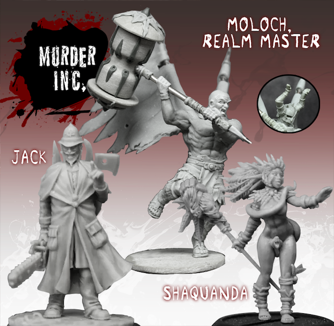 Moloch in angel form, is joined by Jack and Shaquanda as the Murder Inc. maintain murderous intentions...