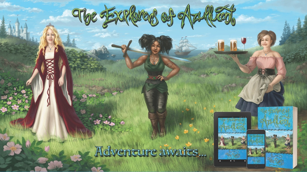 The Explorers of Azullucent: A Young Adult Fantasy Novel project video thumbnail