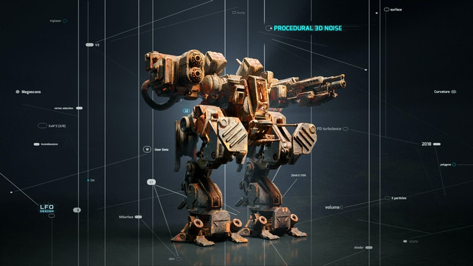 3D Rendering for VFX & Games - Ultimate Online Course by LFO