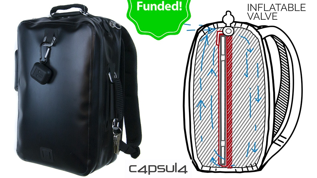 CAPSULA: the toughest bags ever! project video thumbnail