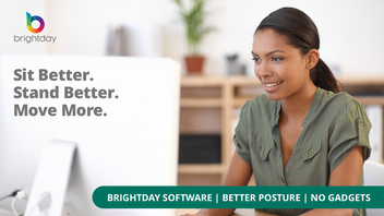 Improve your posture effortlessly with Brightday Software