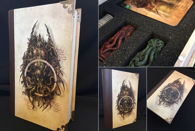 Necronomicon book-case details