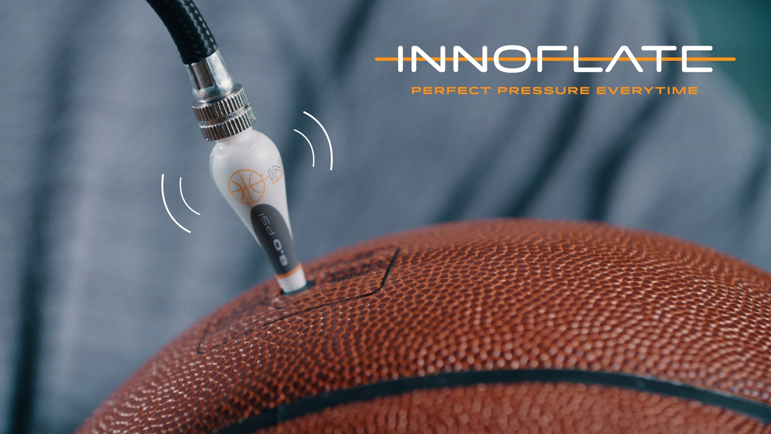 World's first self-regulating Basketball inflation needle by