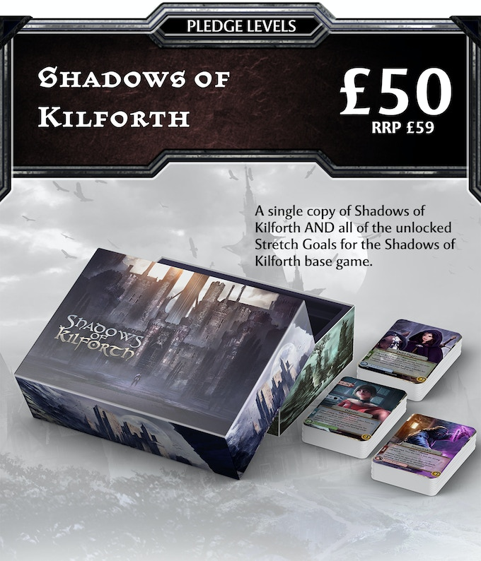 For new backers who just want the game: Shadows of Kilforth