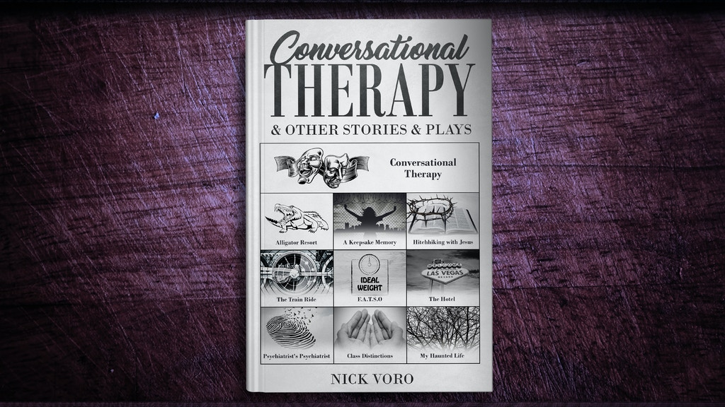 Project image for Conversational Therapy & Other Stories & Plays