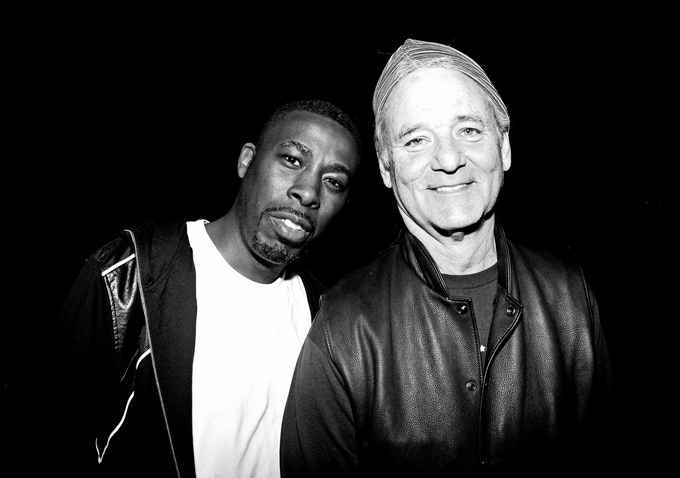 The GZA & Bill Murray, 2010 Austin