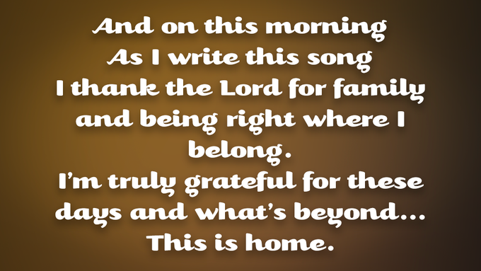 """Excerpt from """"This is Home"""""""