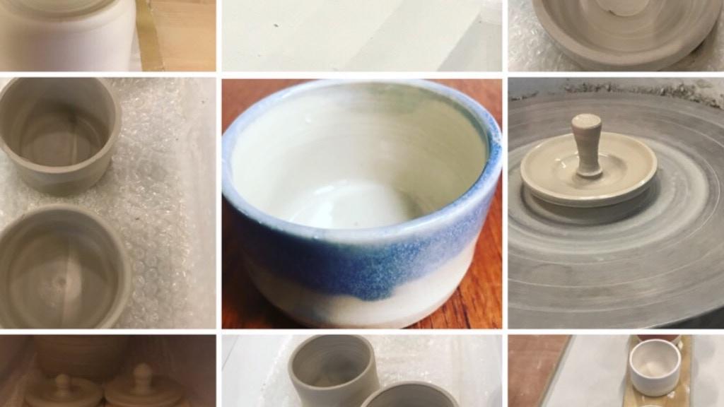 Project image for 100 1lb handturned pots
