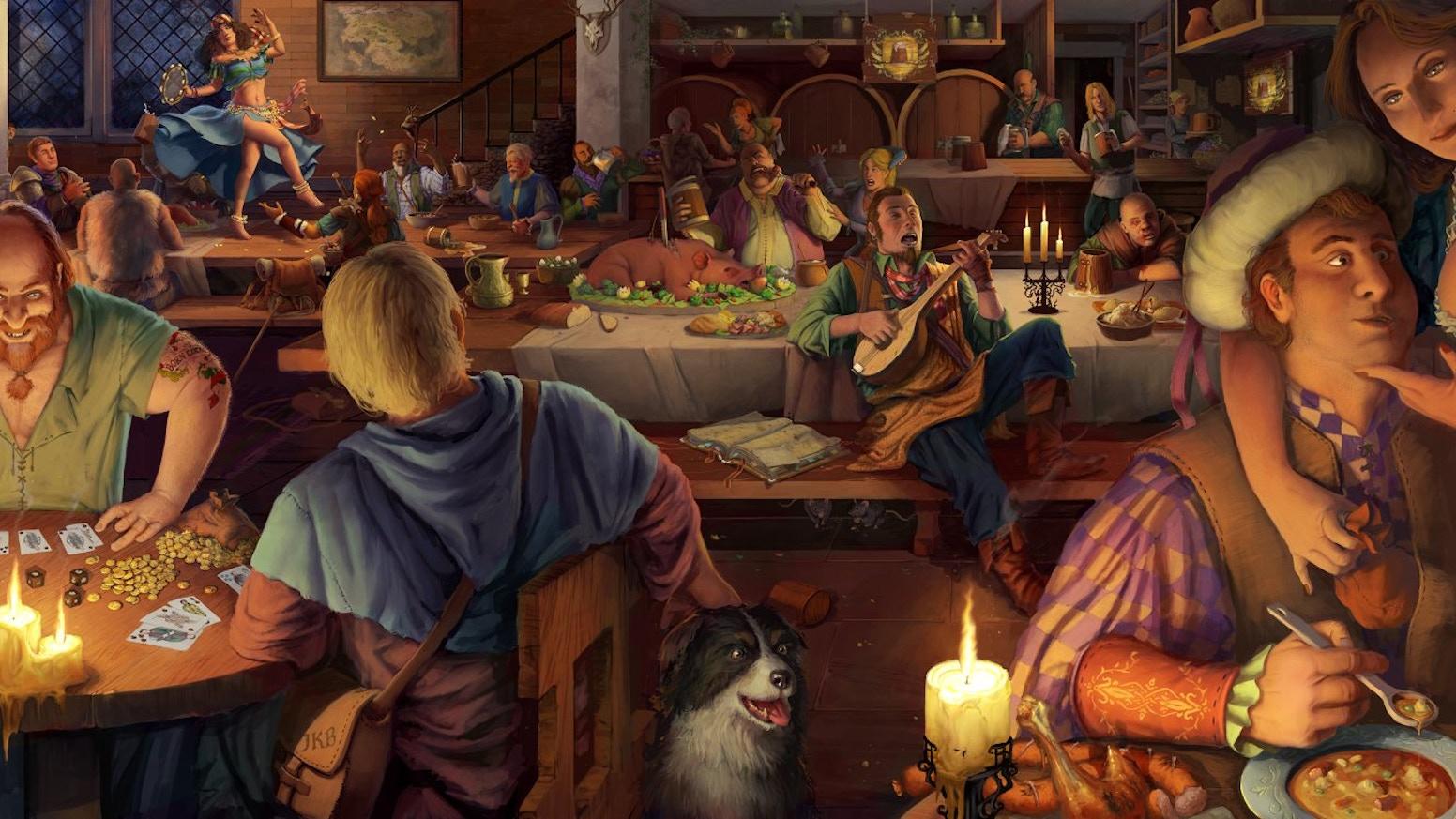 1becb1b45b6b Crossroads Inn - a fantasy tavern simulator. by Klabater — Kickstarter