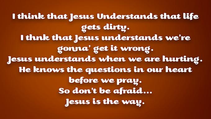 """Excerpt from """"Jesus is the Way"""""""
