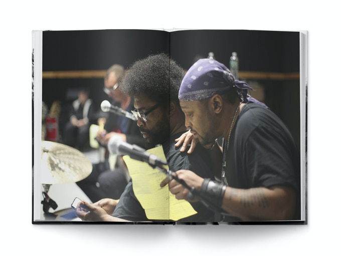 Questlove and D'Angelo, NYC 2016