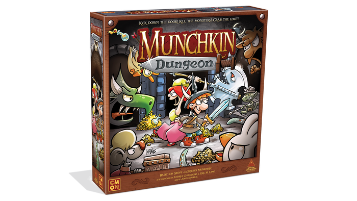Delve into the dungeon, vanquish the monsters, backstab your buddies, and grab the loot! Munchkin comes alive with amazing miniatures!
