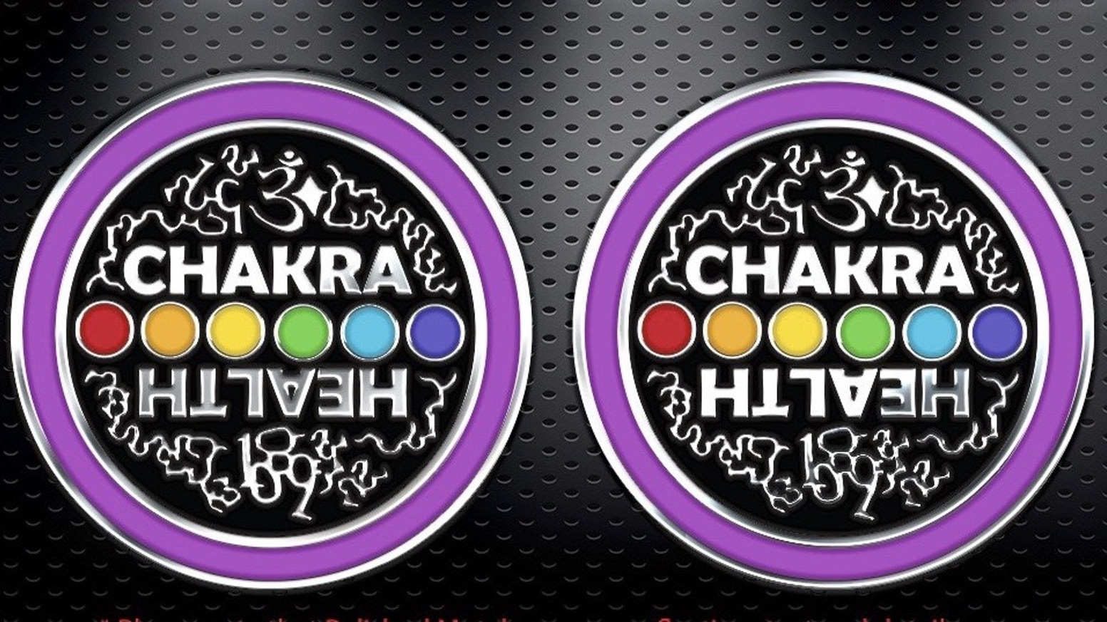 This Chakra Health Token for Good Luck!