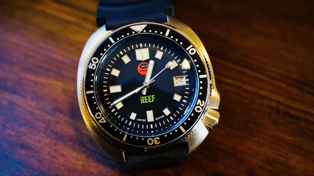 Oceanica Reef The Most Affordable Automatic Dive Watch project video thumbnail