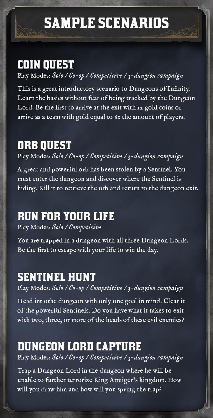 Dungeons of Infinity by Jack Spoerner — Kickstarter