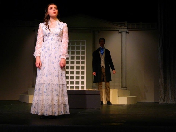 Pride and Prejudice, a teen production directed by Angela Miloro-Hansen at Geauga Lyric Theater. This show performed for public and school audiences and at a library.