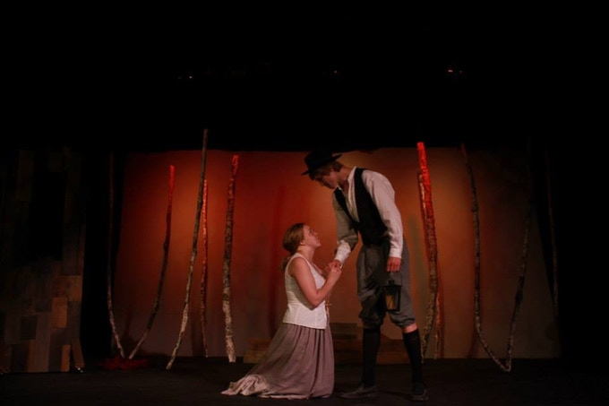 """The Crucible, directed by Angela Miloro-Hansen, in a production at Geauga Lyric Theater. This teen production was cast to give students an opportunity to play beyond their age. Audiences were often heard to say """"I forgot they were kids."""""""