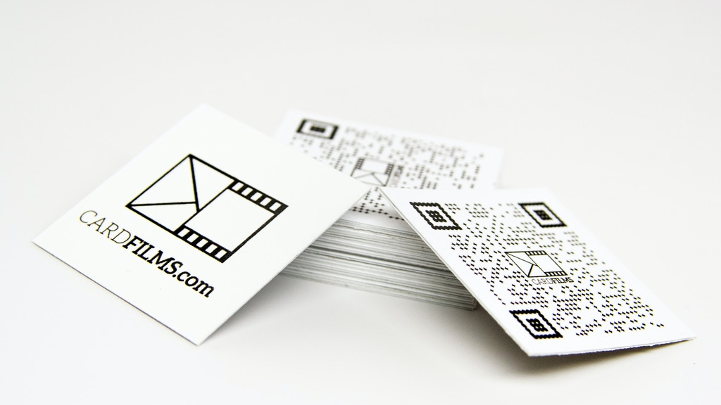 CardFilms - A digital accessory for paper goods project video thumbnail
