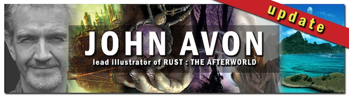 Click on the banner for seeing sample artworks by John Avon