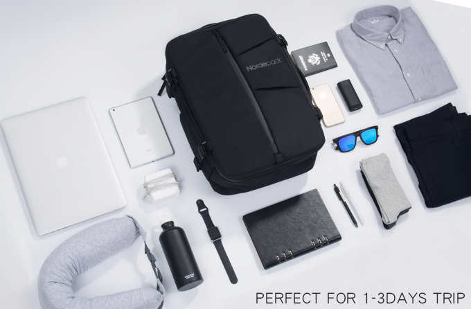 Smart and Versatile Travel + Work Multi-functional Bag