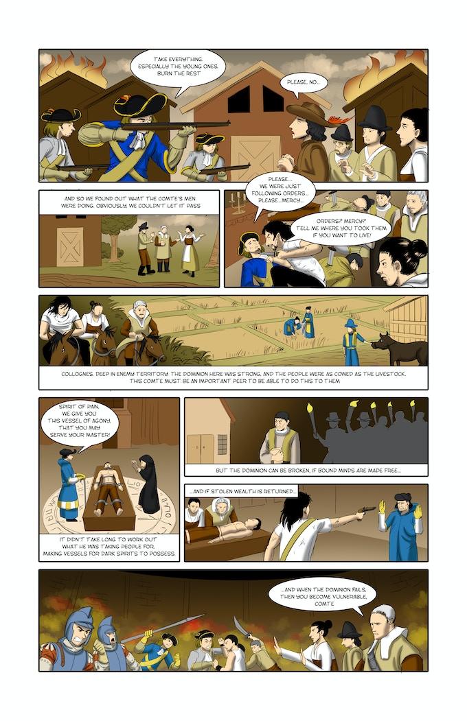 an example comic