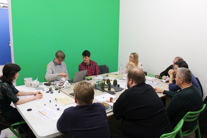 Gaming sessions led by David Blandy at Focal Point Gallery