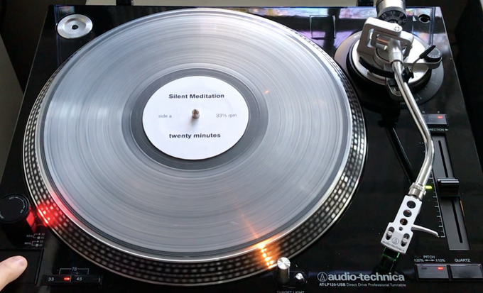 the record will be pressed on cool, translucent vinyl