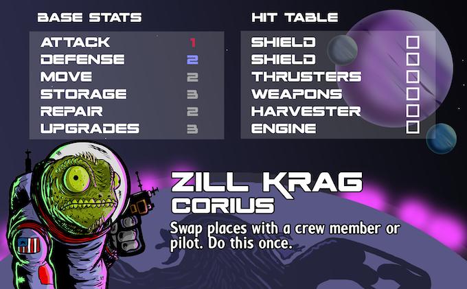 Zill Krag - Pilot