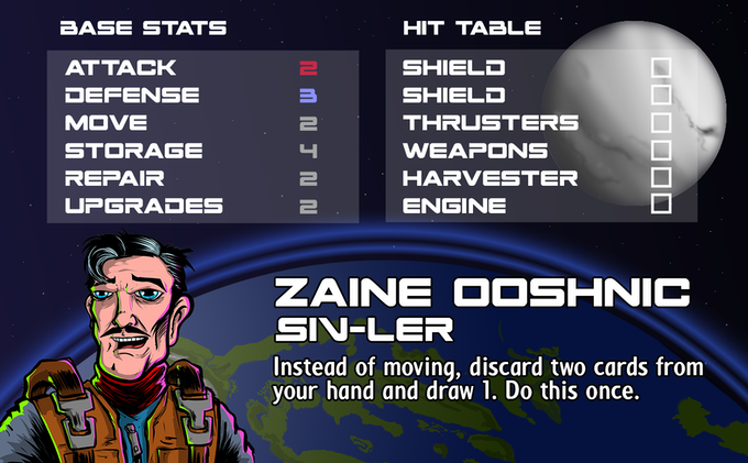 Zaine Ooshnic - Pilot Ship
