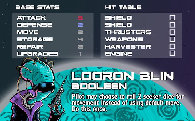 Looron Blin - Seeker Pilot