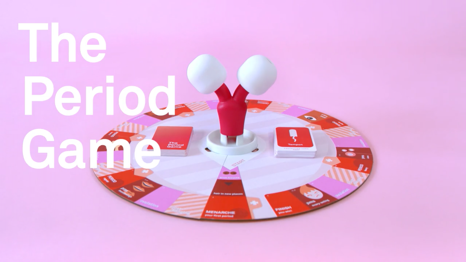 Learn how to go with the flow with this menstruation-themed board game