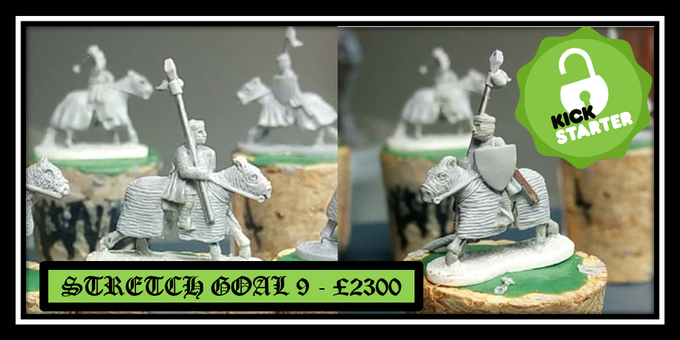 Unlocked stretch goal 9 - Armored mounted sergeant