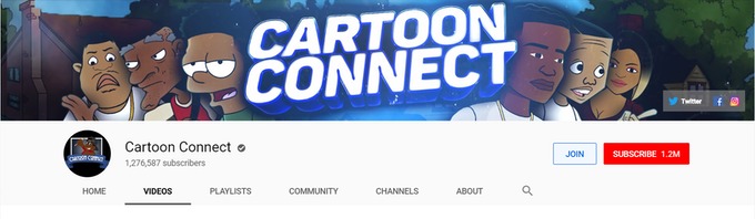 Cartoon Connect on YouTube