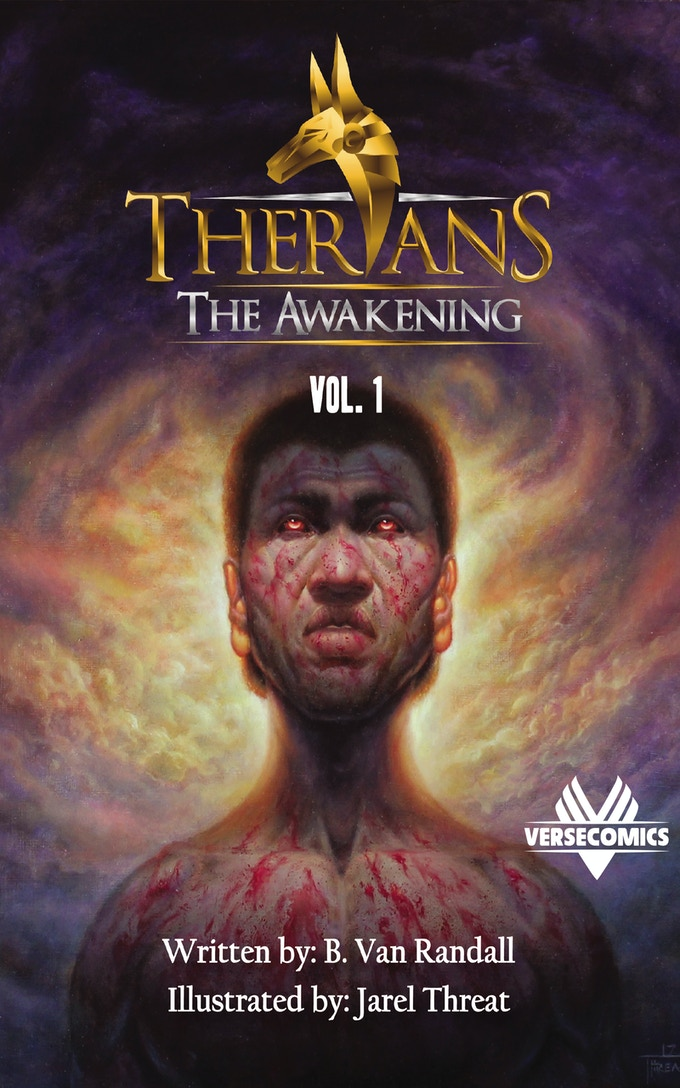 Therians; The Awakening (Volume 1) - All 4 Issues in one