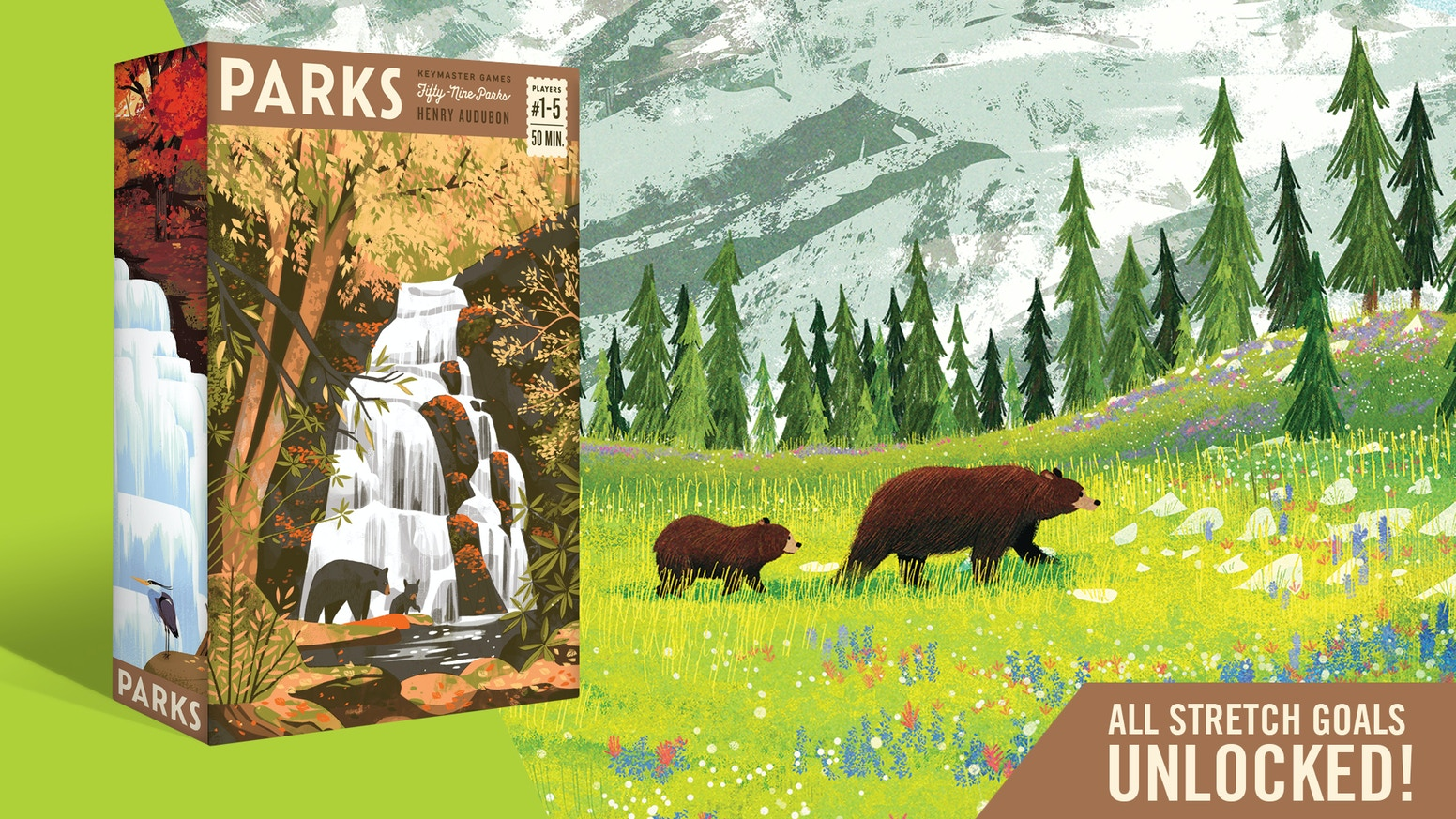 A game about exploring and discovering the US National Parks