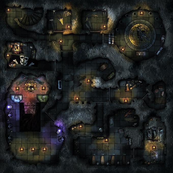 Necromencer's lair