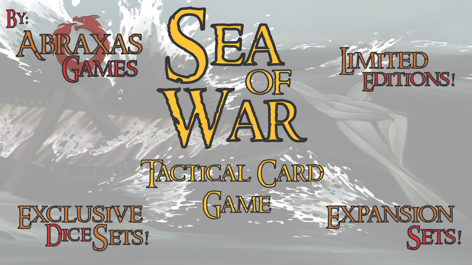 Sea of War - Tactical Card Game by Abraxas All-Seer