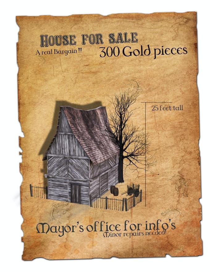 Medium house sketch