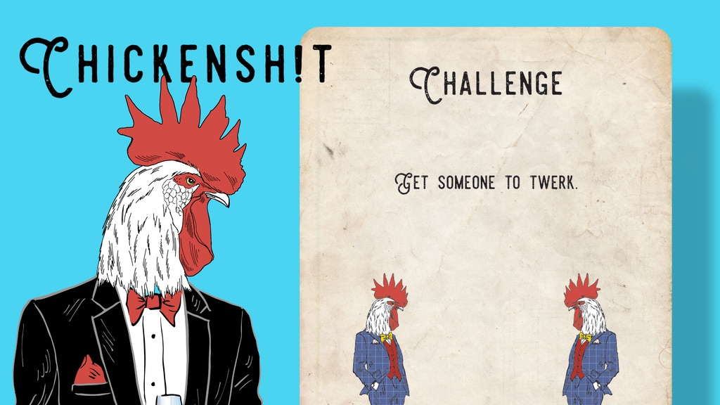 Chickenshit - The Drinking Card Game You Play with Strangers project video thumbnail
