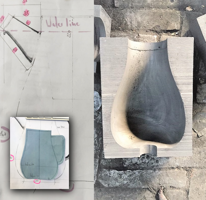 From the first sketches to the development of the final Teapot mold.