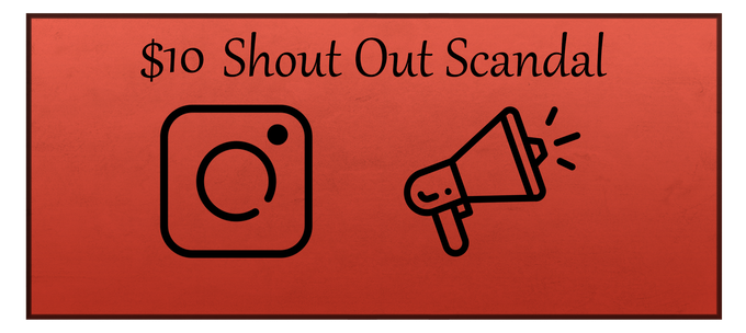 The Shout Out Scandal reward includes a digital copy of Ghosts Be Gone, the Deleted Scenes reward, and a shout out to my Instagram followers.