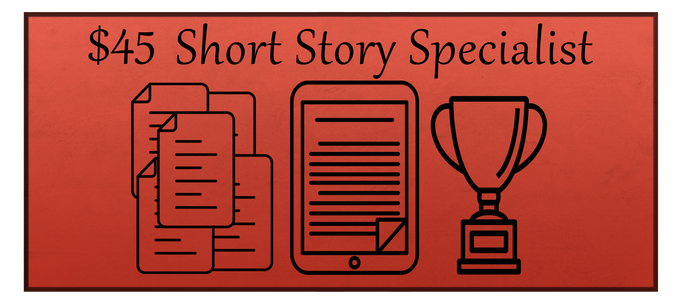 The Short Story Specialist reward includes a digital copy of Ghosts Be Gone and the Deleted Scenes reward. A story concept created by you and me will also be turned into a short story for a future short story collection which you will receive a digital download for and have your name in the acknowledgements section.