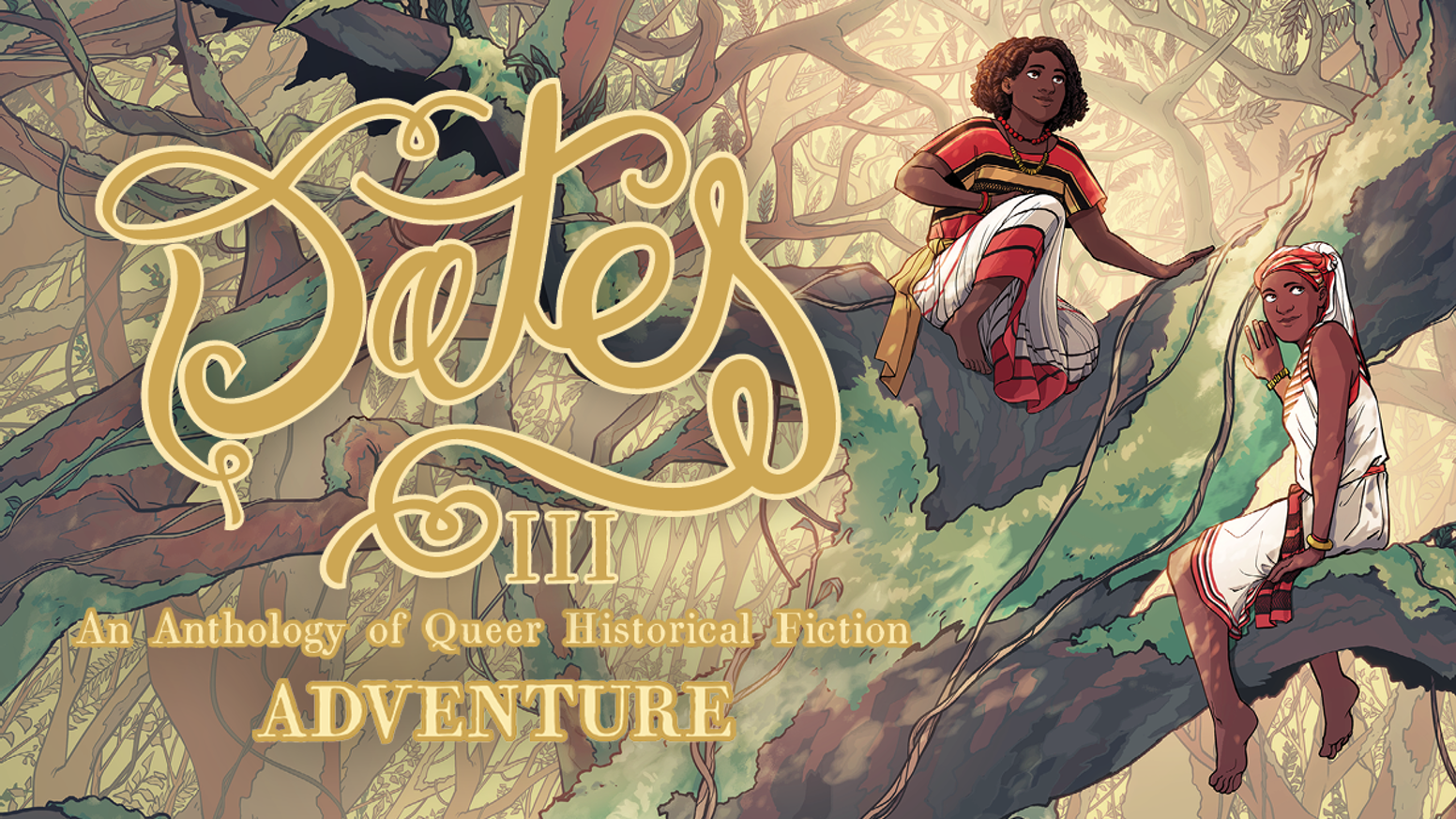 Dates is an anthology of positive queer historical fiction, set throughout time and across the world. This is Volume 3: ADVENTURE!