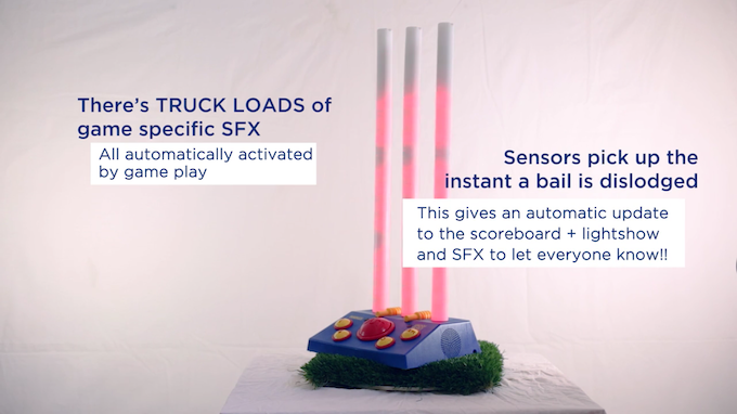 Sound Effects and Bail Sensors
