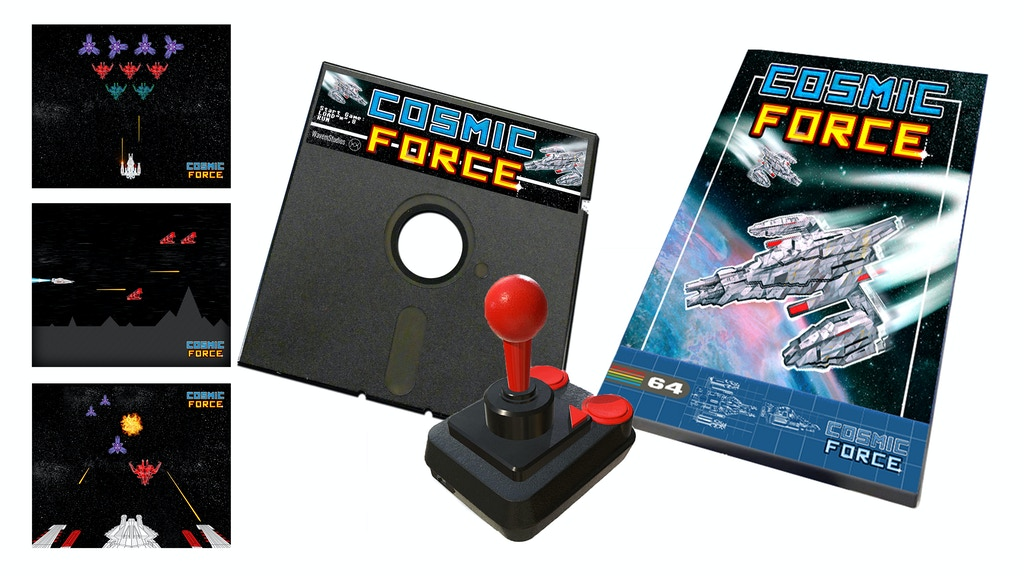 COSMIC FORCE - C64 Retro Shoot 'Em Up project video thumbnail