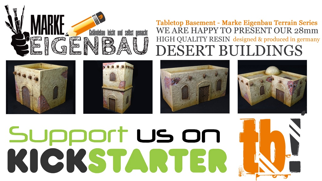 28mm Desert Tabletop Buildings project video thumbnail
