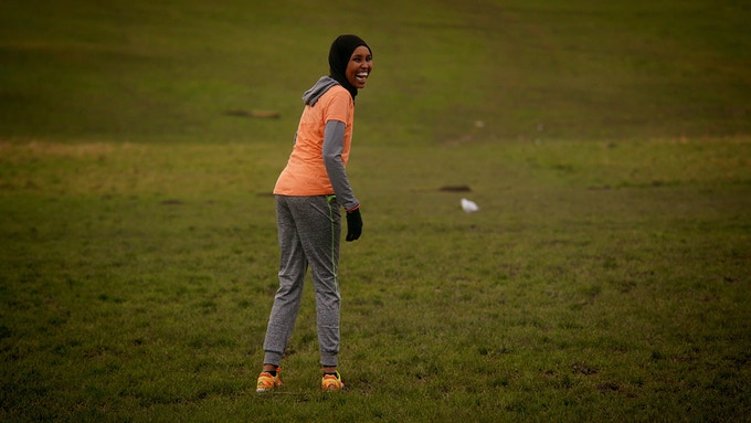 Zamzam, a Somalian refugee who featured in I Run On,  found hope and a better life through running.