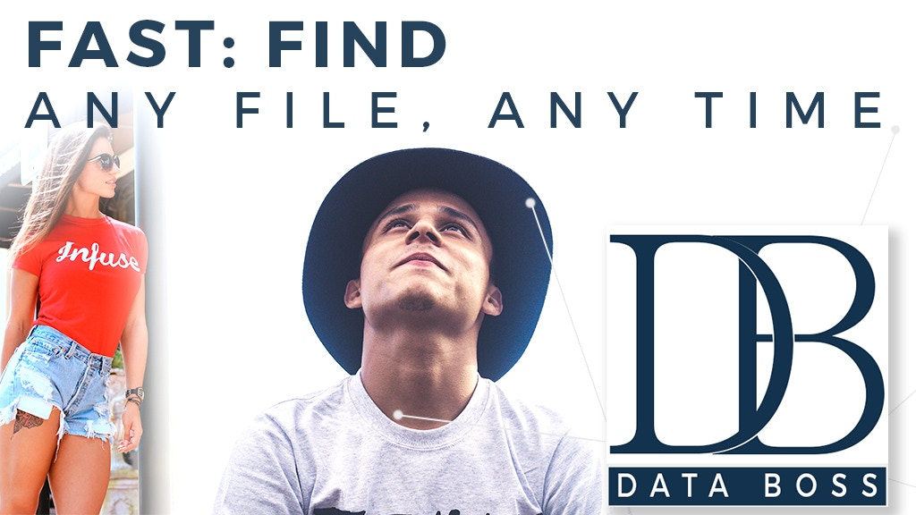 DataBoss: the EASIEST photo backup and search. Pro/home use.