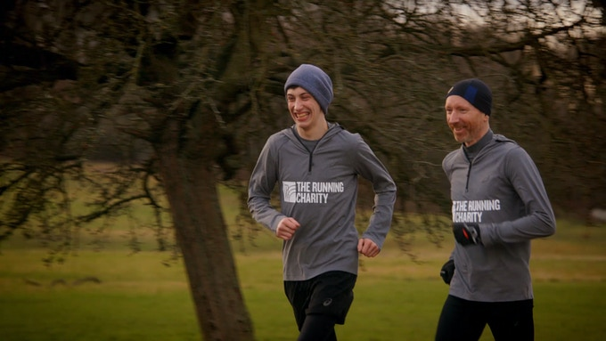 Alex believes he would be dead if it wasn't for running, for him, it's a coping mechanism for mental health issues.