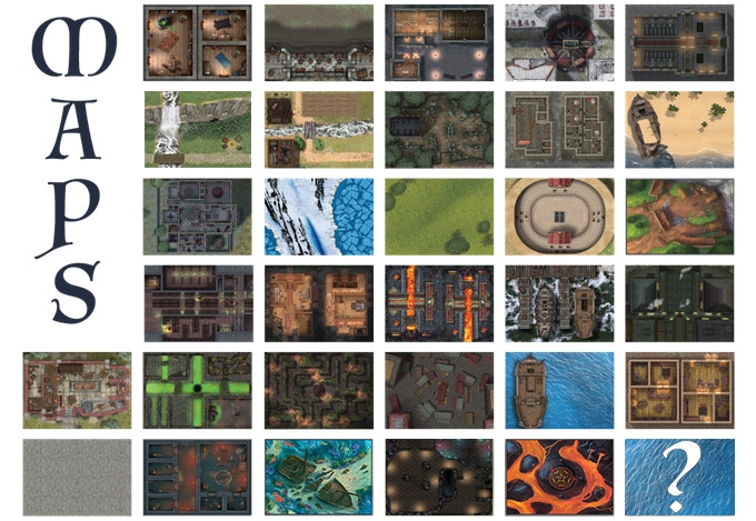 Immersive Battle Maps for Tabletop Roleplaying Games by